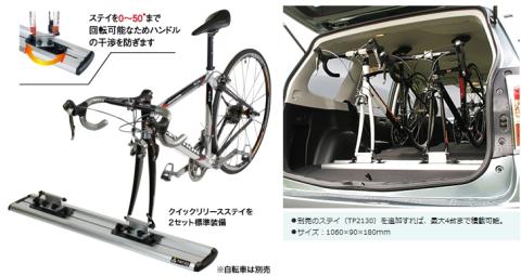 自転車の 自転車 キャリア 背面 自作 : すすめの自転車用車載キャリア ...